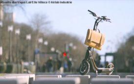Airlab industrie lance sa trottinette électrique Lab'Elle Véloce