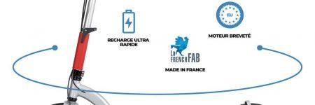 GOO ElectricMood, la trottinette électrique de conception française