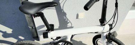 Test Xiaomi QiCycle EF1 : le vélo électrique pliant connecté ultra-compact