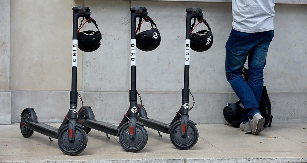 Avec Bird, Paris accueille son deuxième service de trottinette électrique sans borne