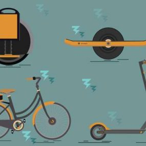 Hoverboard, trottinette, vélo électrique : qui peut rouler où ?