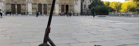 Trottinette électrique sur les trottoirs parisiens : vous risquez une amende de 135 euros