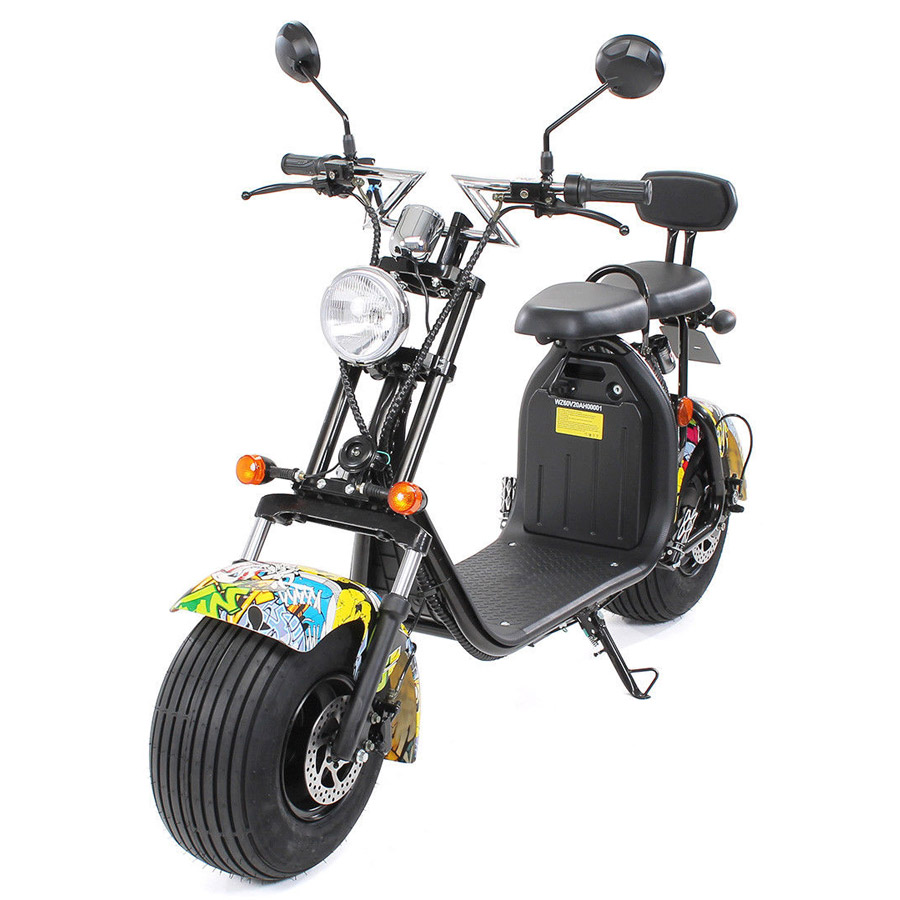 E-scooter eflux Harley