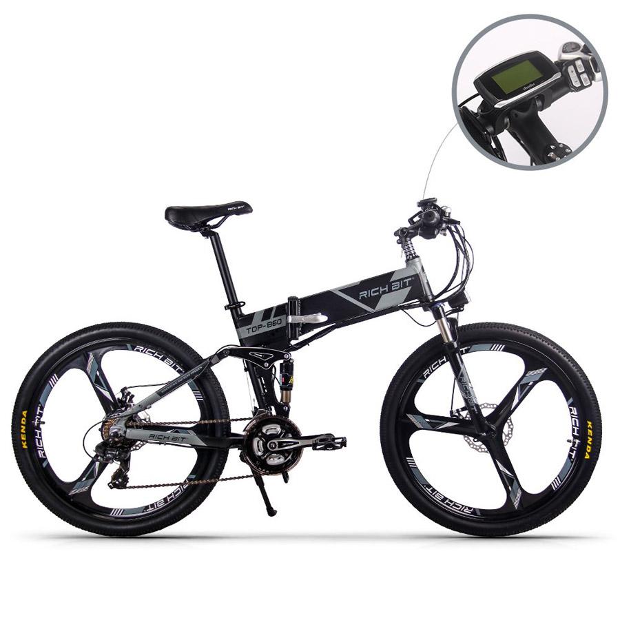 Vélo électrique RICH BIT Mans