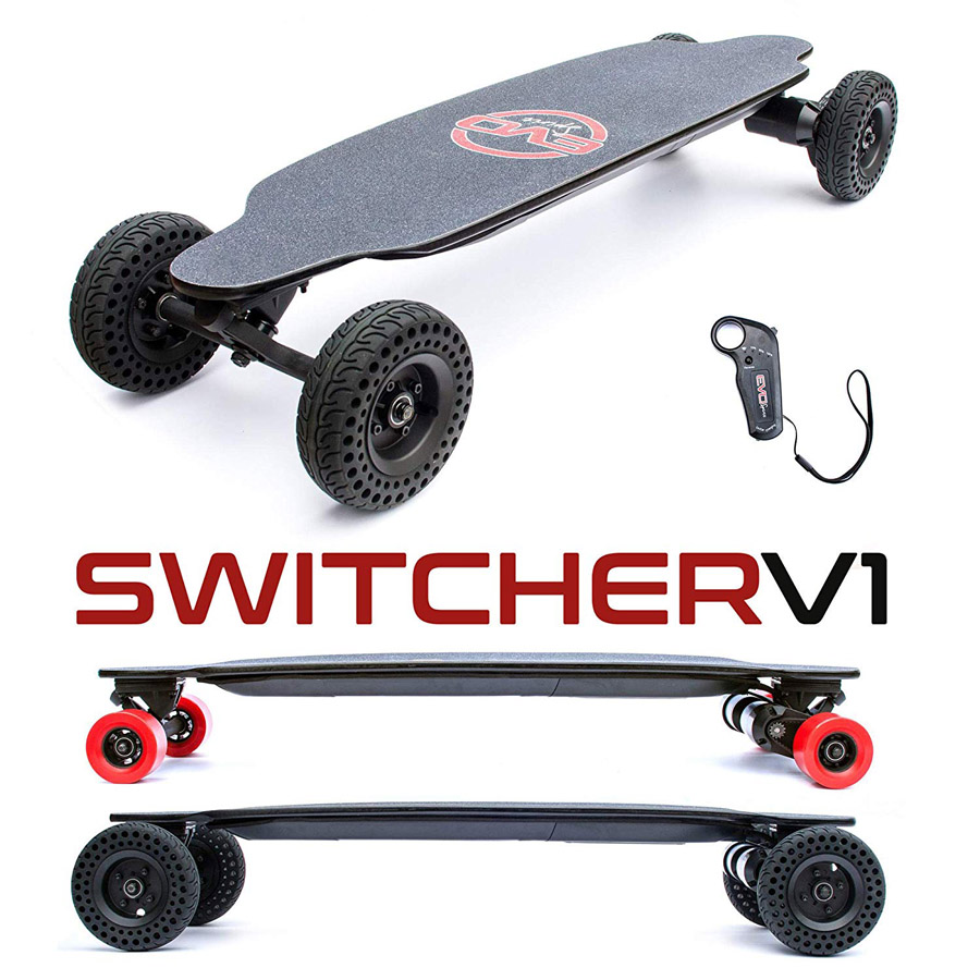 Skateboard électrique Evo-Spirit Switcher V1