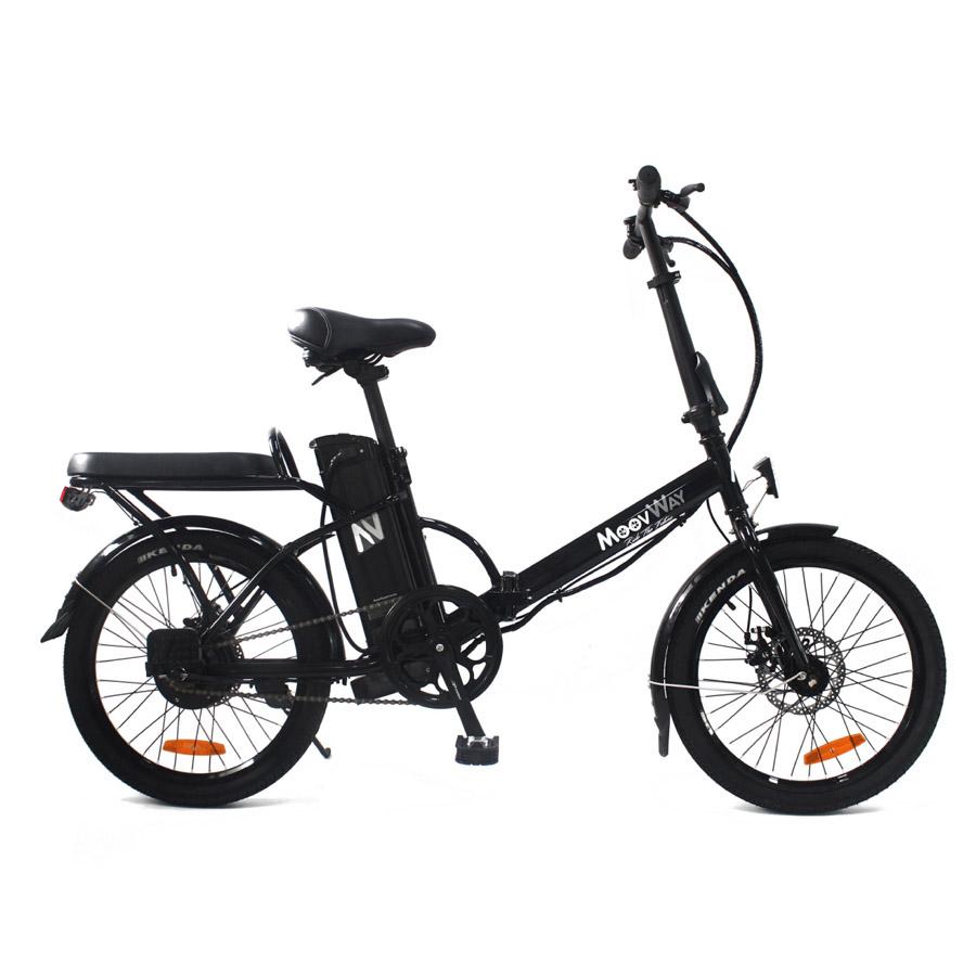 Vélo électrique pliable Urban City Noir