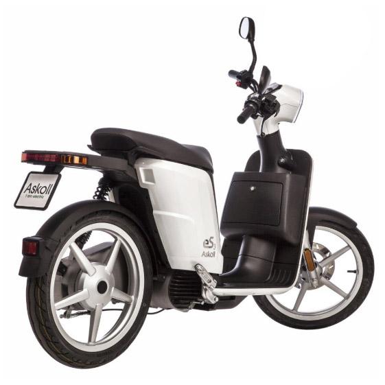 Scooter électrique Askoll ES3 100 cm3