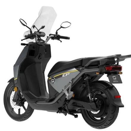 Scooter électrique Super SOCO CPX 125