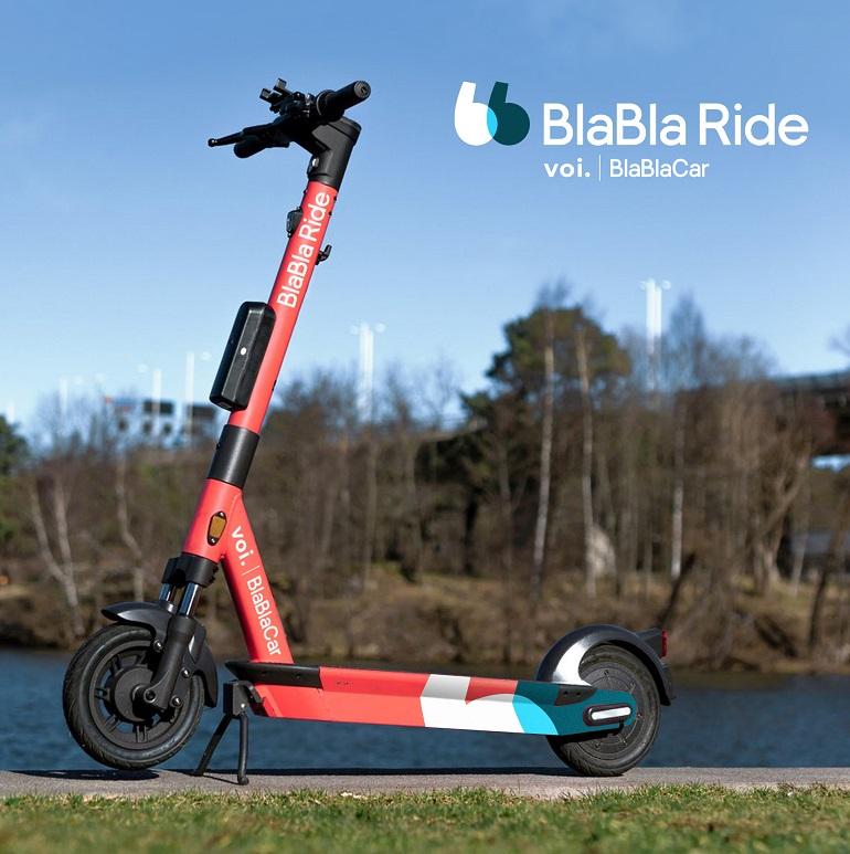 BlaBlaCar se lance dans la trottinette électrique en partenariat avec Voi Technology