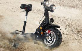 GUNAI Scooter électrique Double Moteur Double Suspension