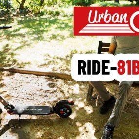 Urbanglide présente Urbanride 81 BOOST